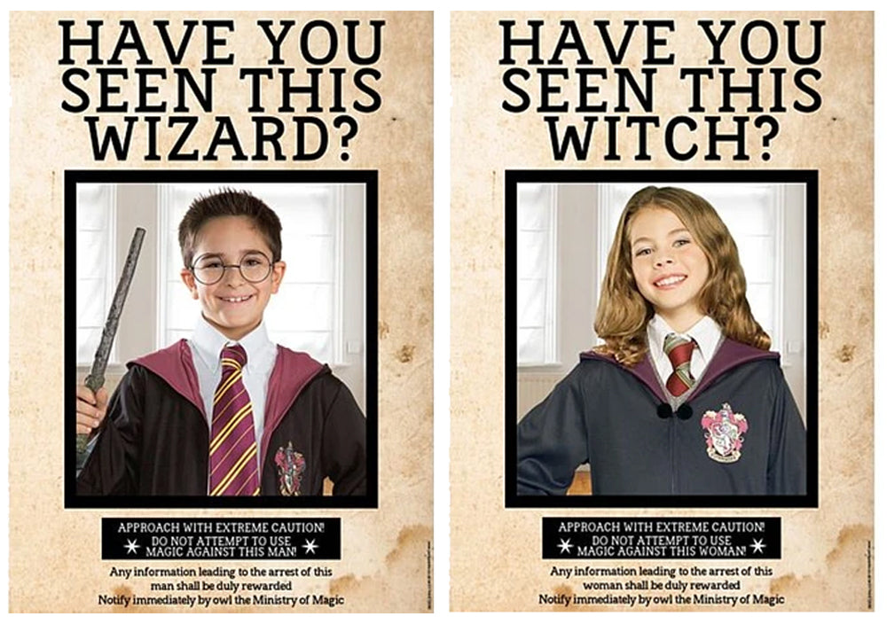 Have You Seen This Wizard Witch Personalised Sign