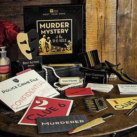 Host Your Own Murder Mystery Game