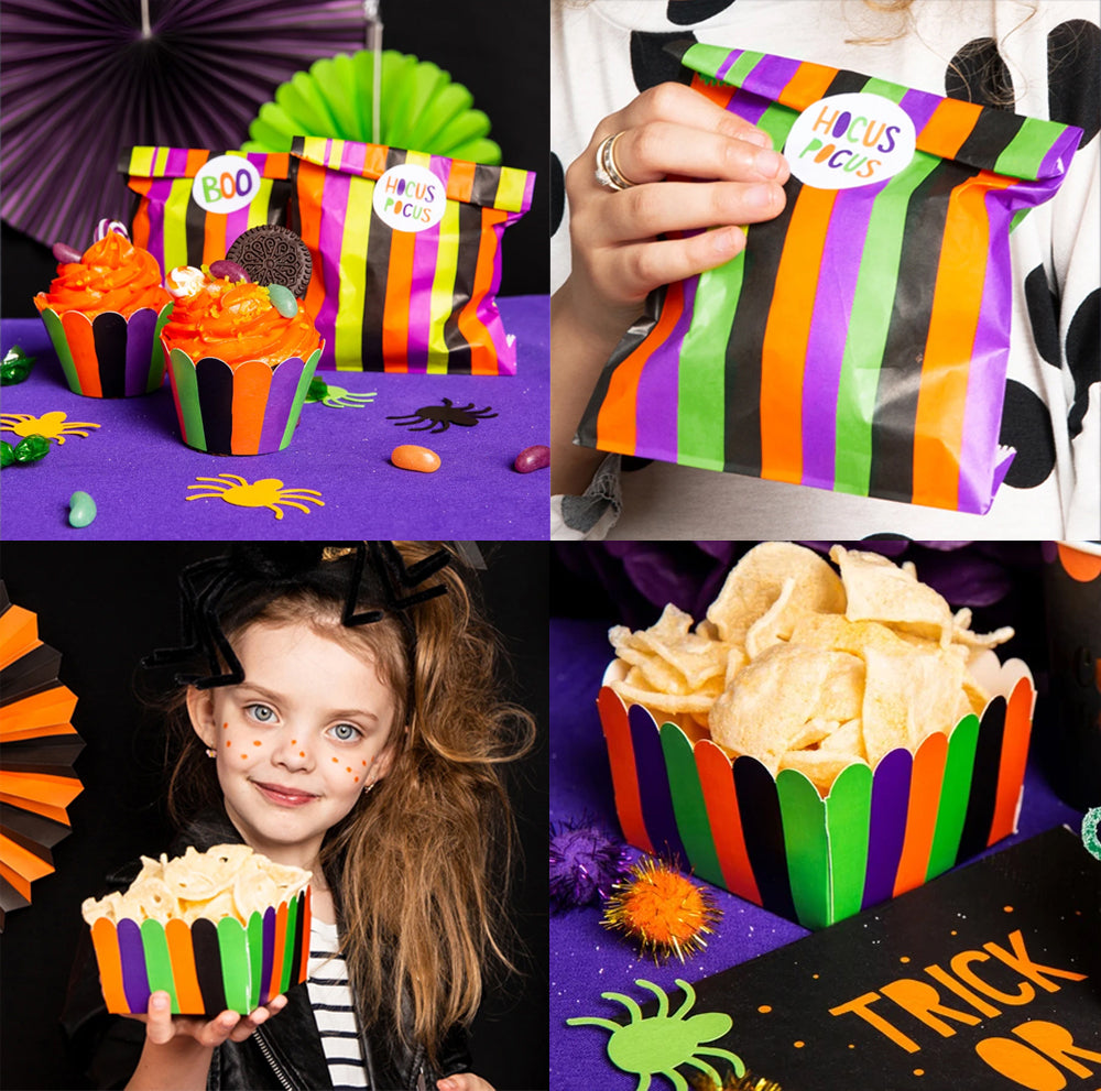 Halloween Treat Bags and Treat Boxes