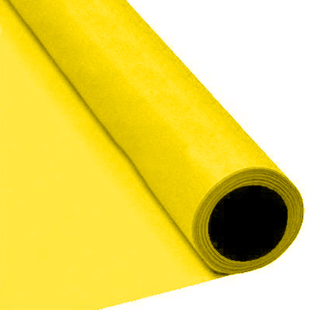 Yellow Paper Table Roll - 8m