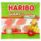 Haribo Giant Strawbs Gone Mini Strawberry Flavour Gummy Sweets - 16g Mini Bag - Each