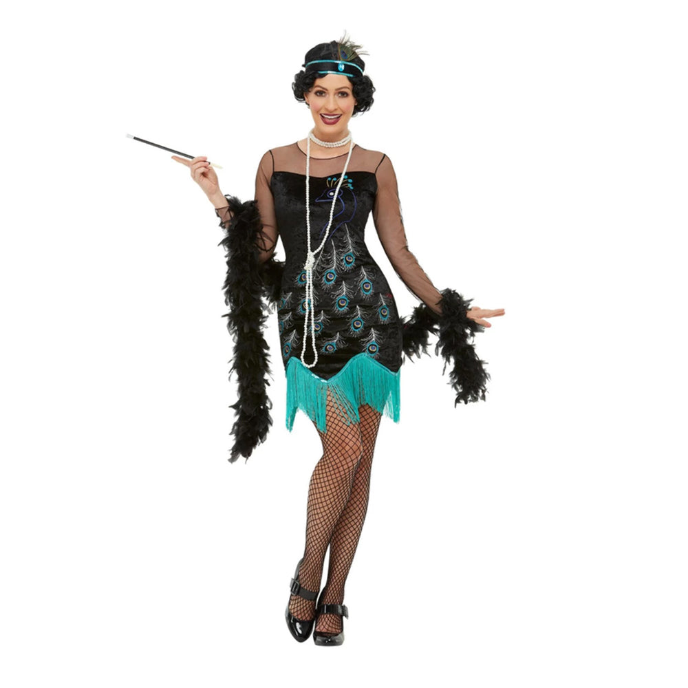 Peacock 1920's Flapper Costume