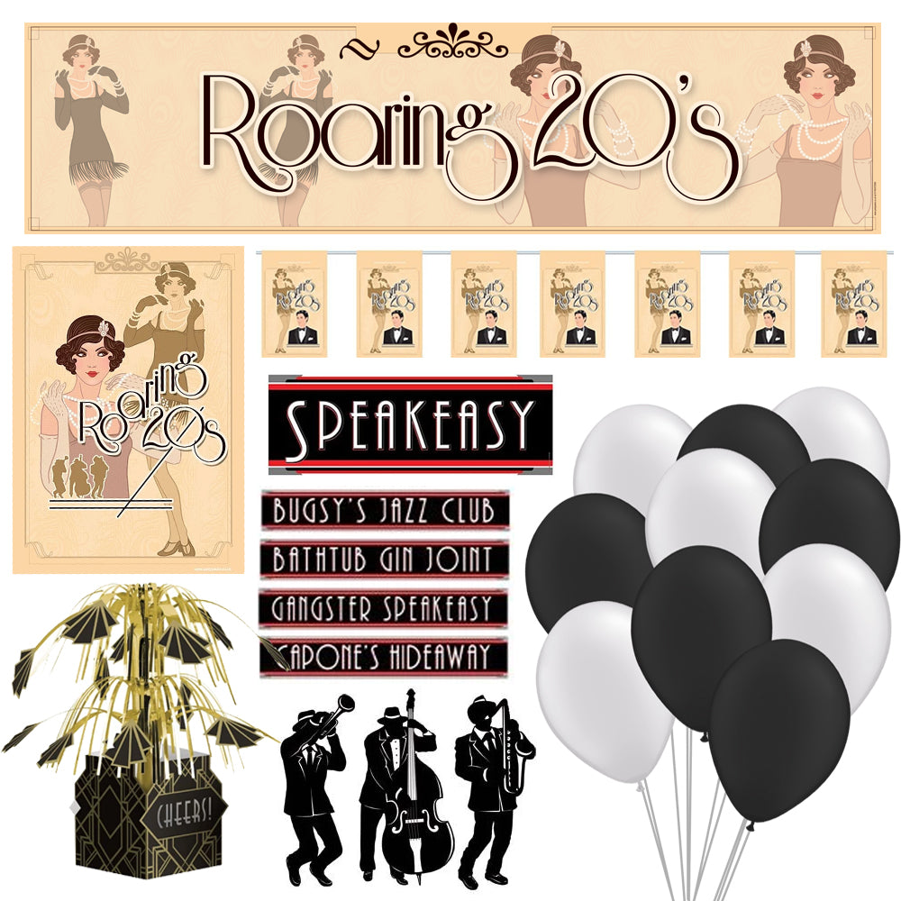 1920's Themed Party Pack