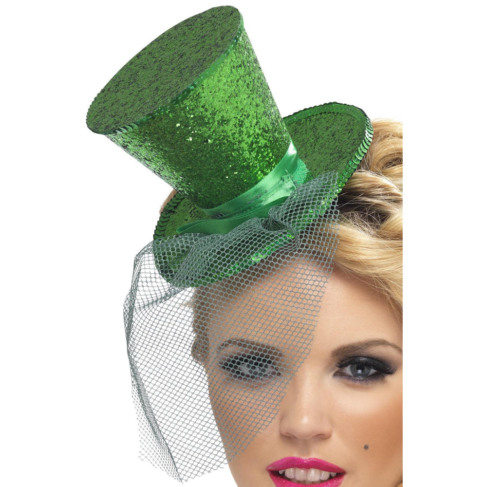 Fever Mini Top Hat- Green
