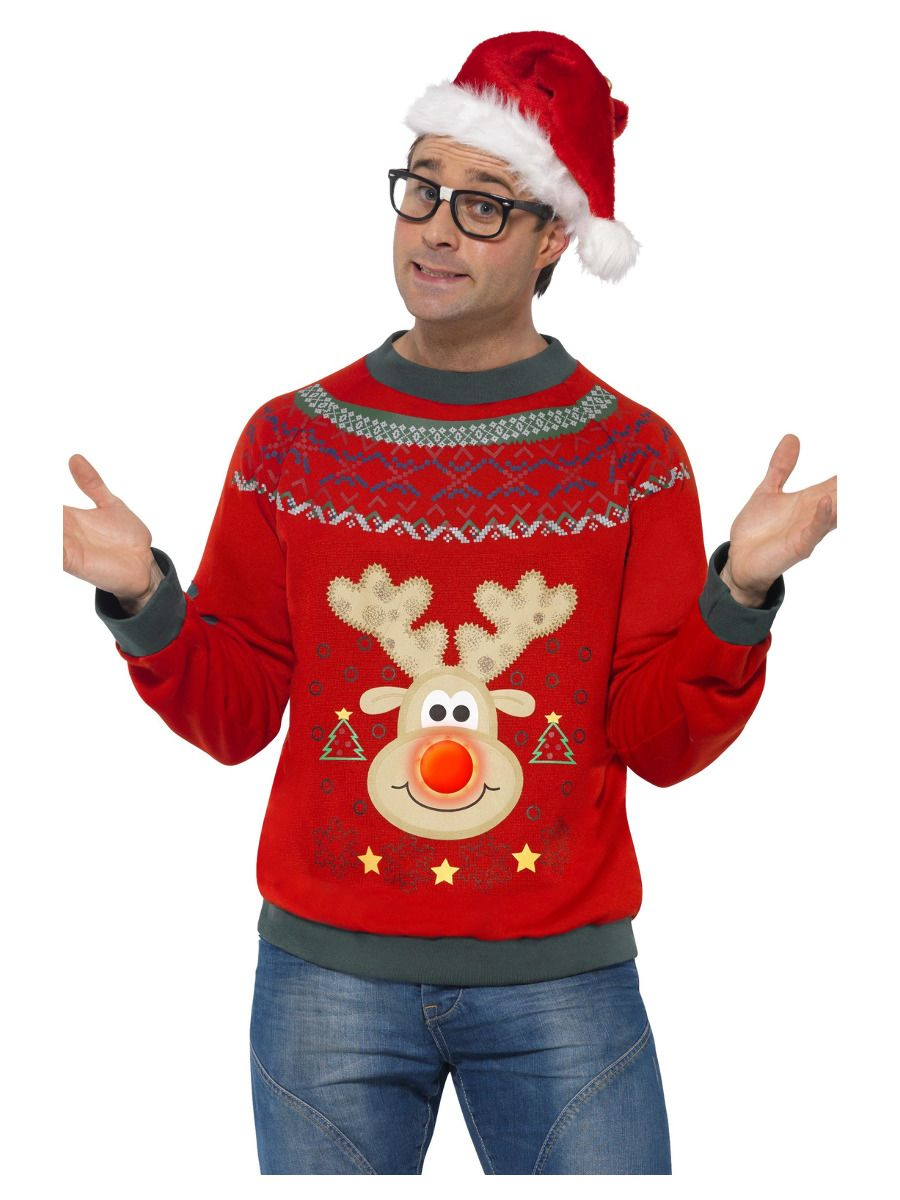 Flashing Christmas Jumper Costume