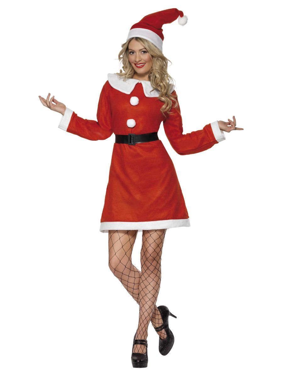 Bargain Miss Santa Costume
