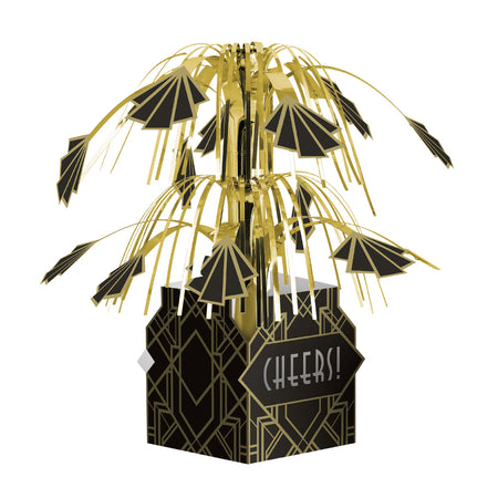 Roaring 20's Cascade Centrepiece Table Decoration - 23cm