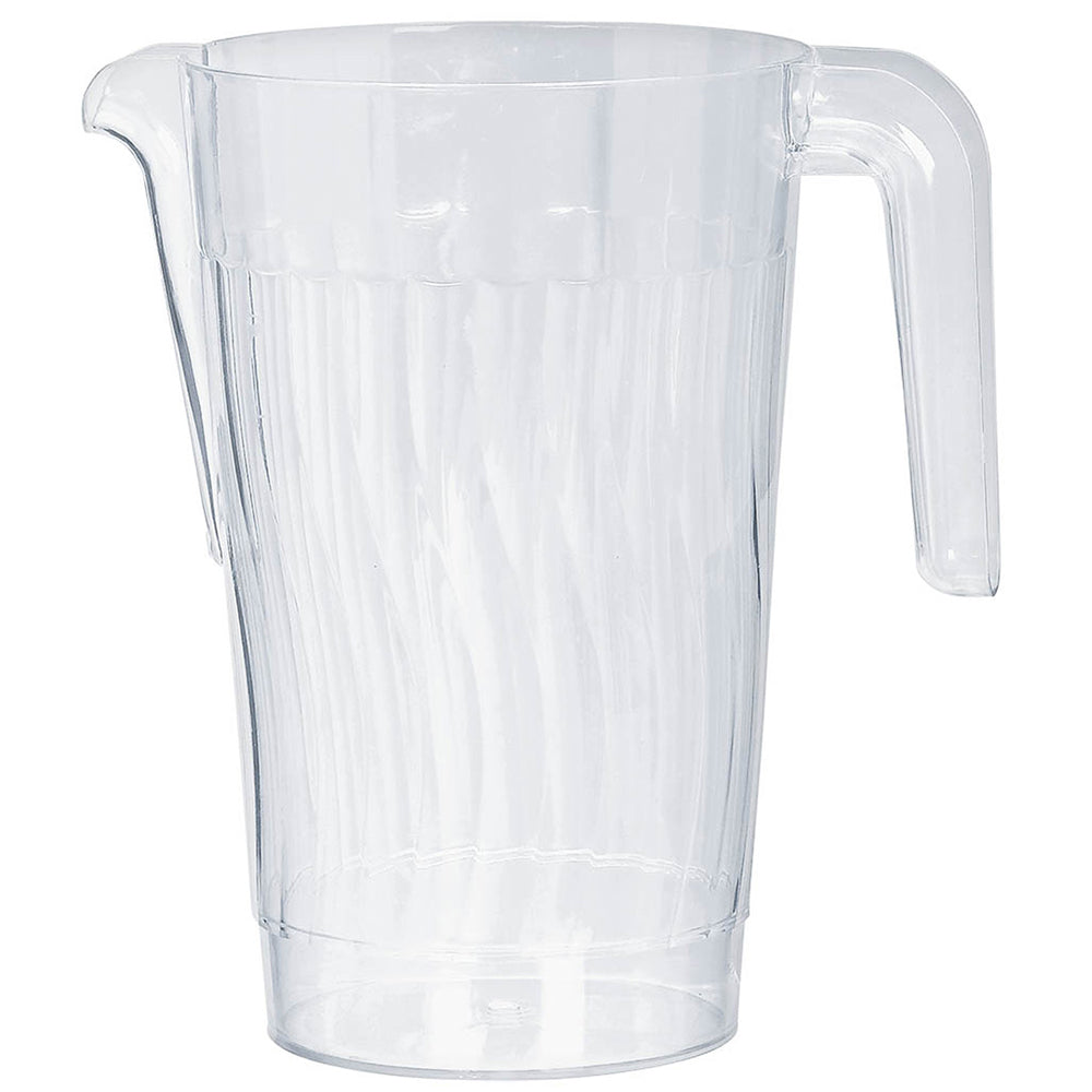 Drinks Jug Reusable Clear Plastic - 1.47 Litre - Each