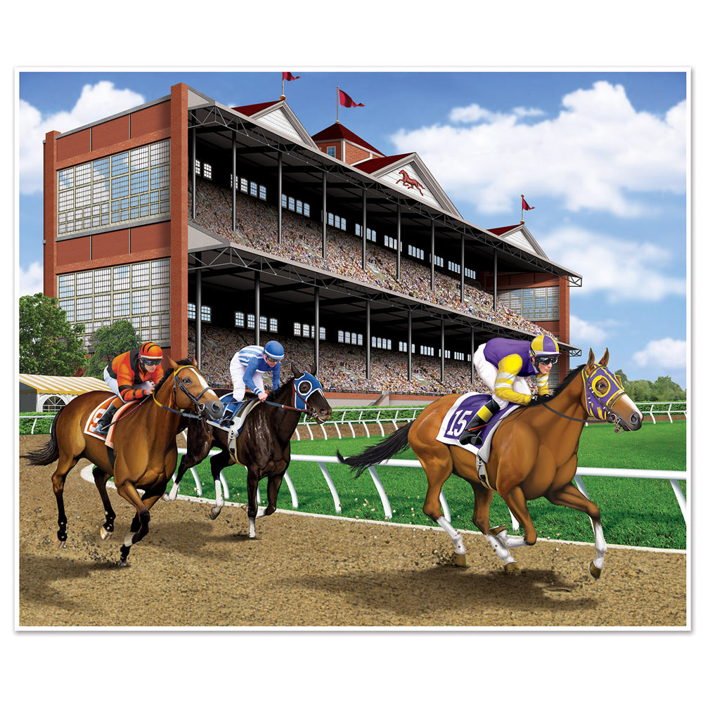Horse Racing Backdrop - 1.8m