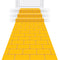 Yellow Brick Road Floor Runner - 3m x 60cm