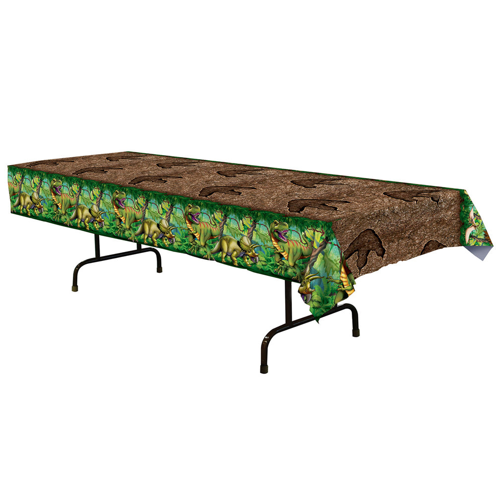 Dinosaur Footprints Tablecover - 137cm x 274cm