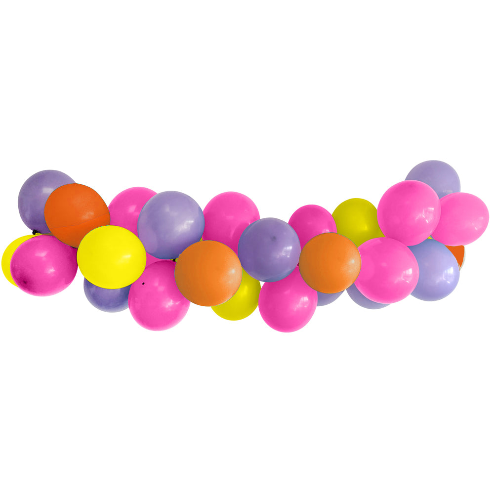 Orange, Pink and Yellow Balloon Arch DIY Kit - 2.5m
