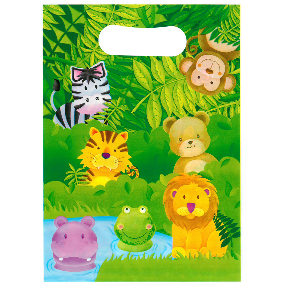 Jungle Safari Party Bags - Pack of 10
