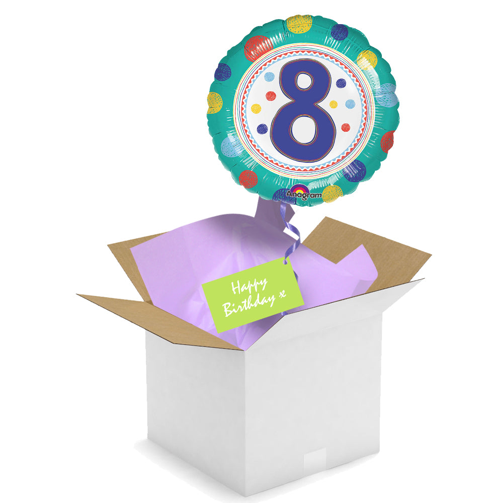 Send a Balloon - 8th Birthday Spots