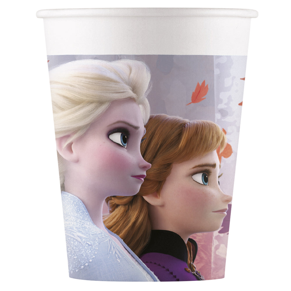 Disney Frozen Paper Cups - 200ml - Pack of 8