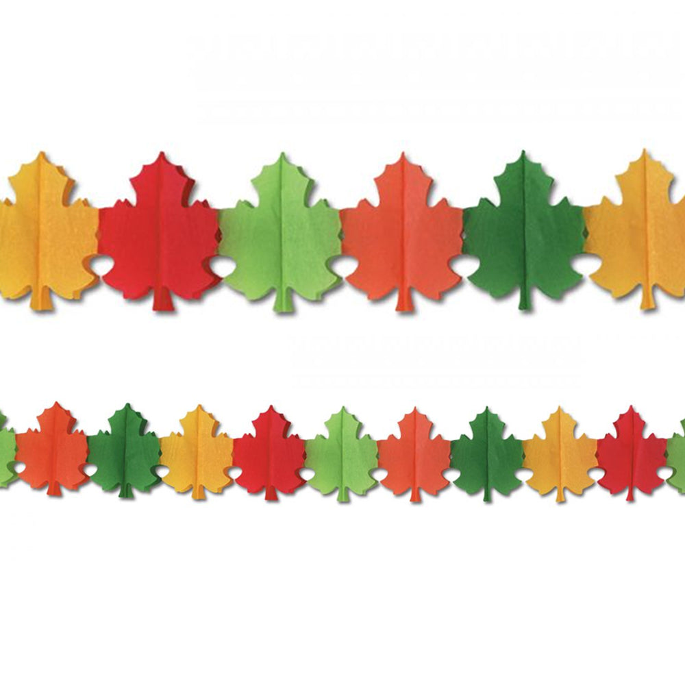 Autumn Leaves Garland - 3.6m