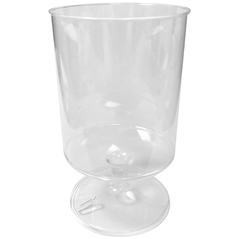Reusable Plastic Wine Glass - 250ml - Each