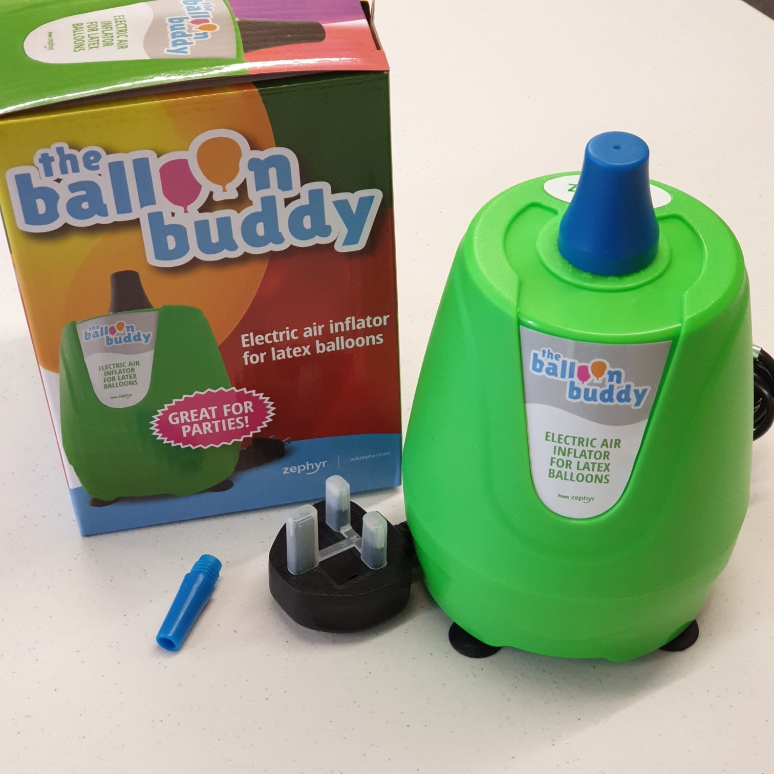 Balloon Buddy Electric Balloon Pump