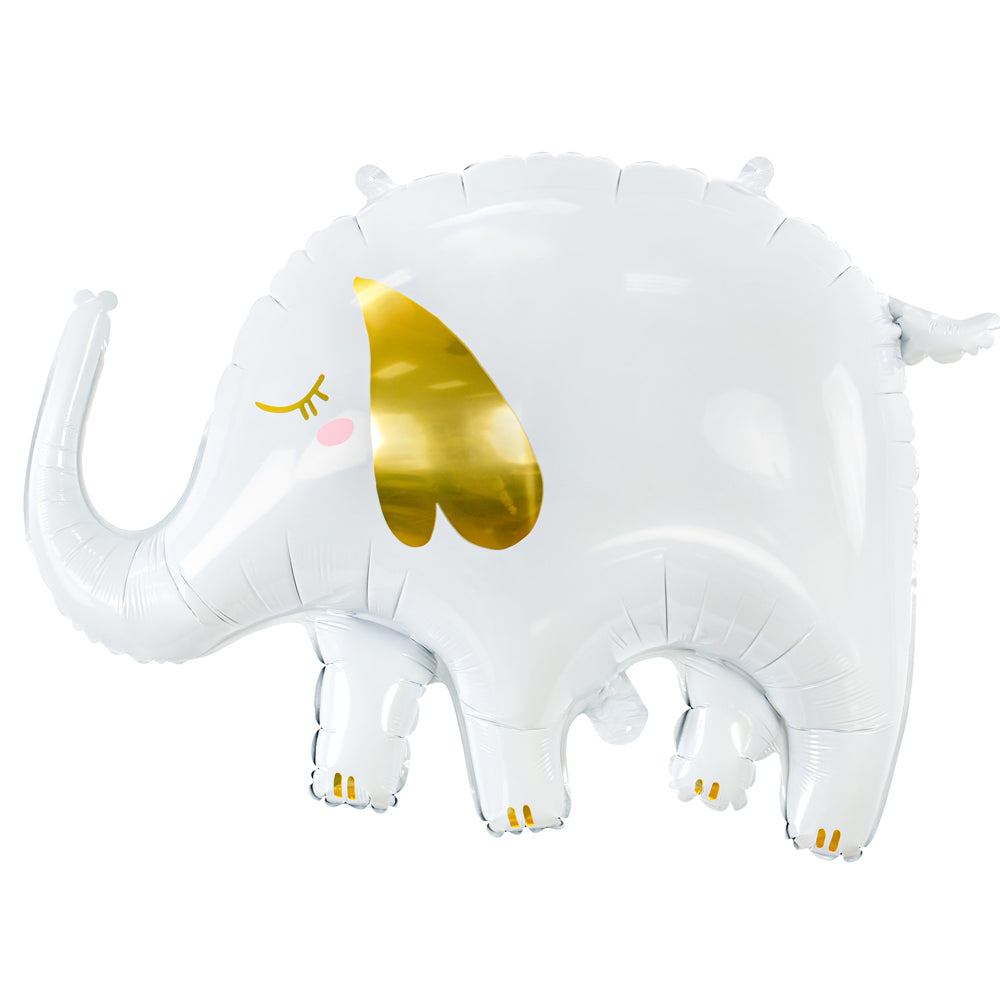 White Elephant Foil Balloon - 36""