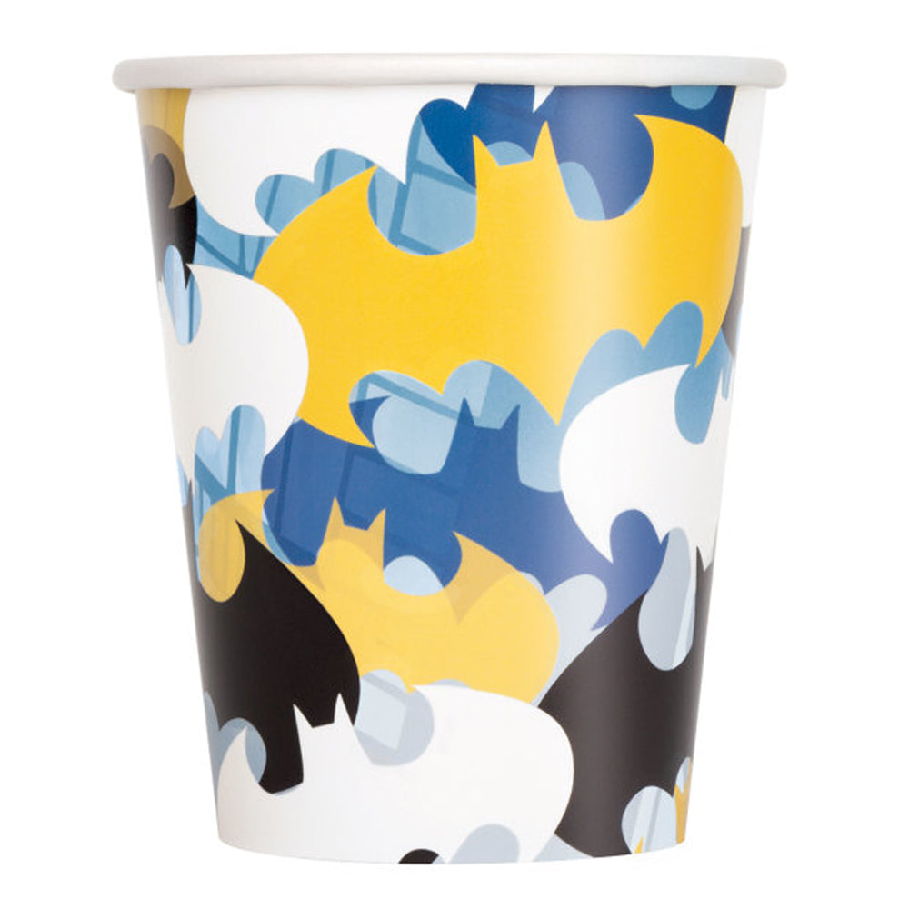 Batman Paper Cups - Pack of 8