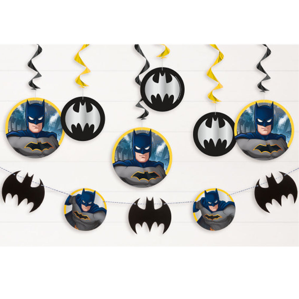Batman Decorating Kit - 7 Pieces