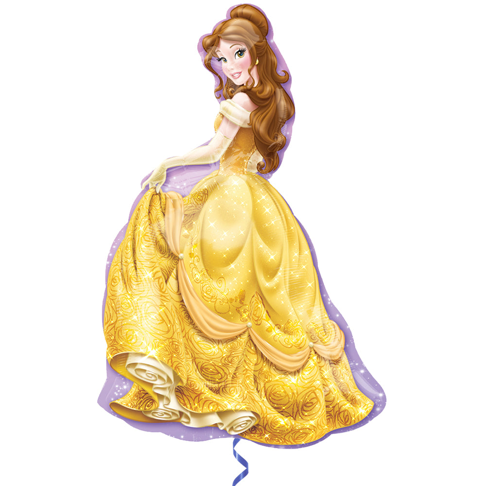 Princess Belle Supershape Foil Balloon - 39""