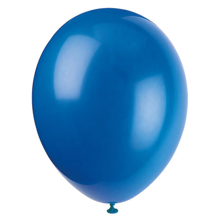 Dark Blue Latex Balloons - 12