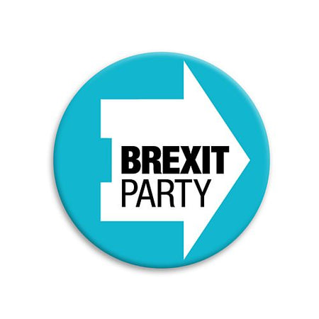 Brexit Party Badge - 58mm - Each