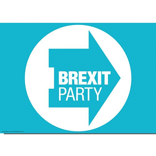Brexit Party Poster - A3