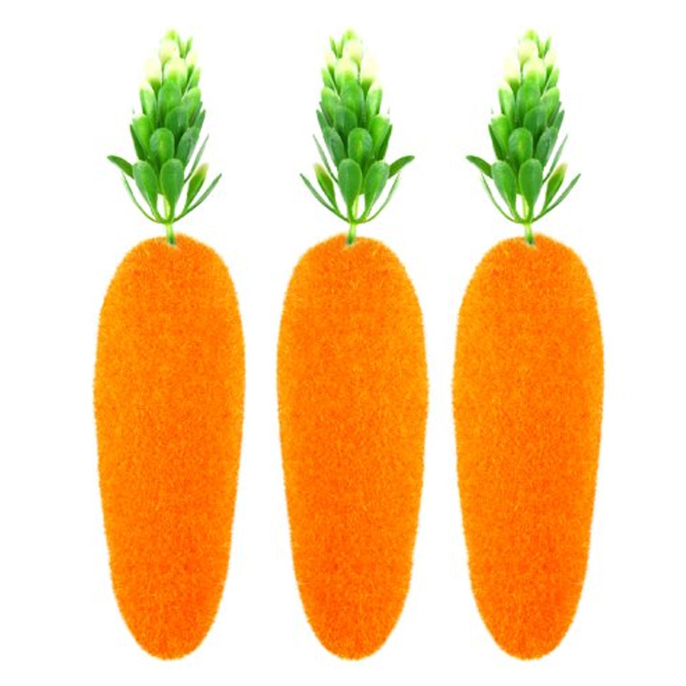 Carrot Decorations - 15cm - Pack of 3