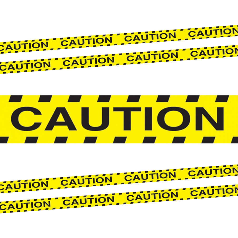 Caution Party Tape - 6.1m