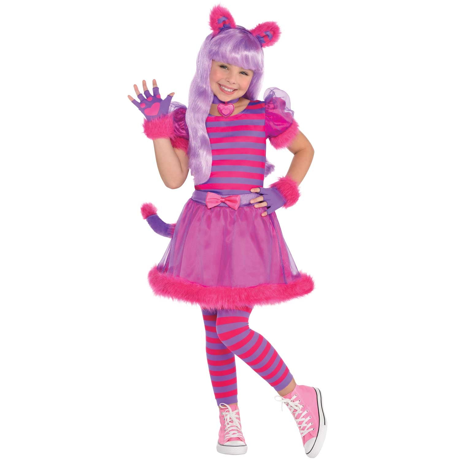 Children's Alice in Wonderland Cheshire Cat Costume