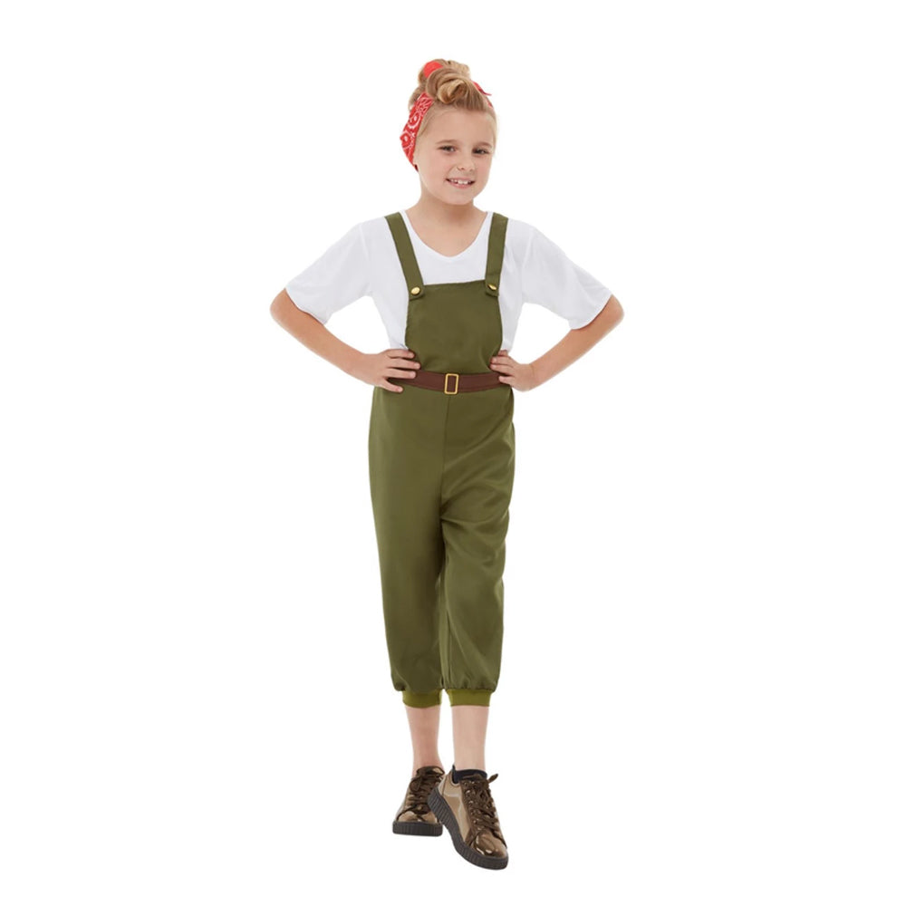 World War II Little Land Girl Costume