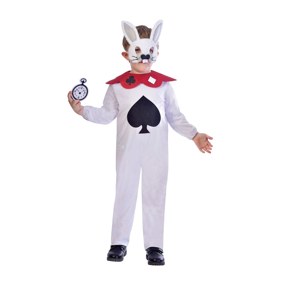 Children's White Rabbit Costume