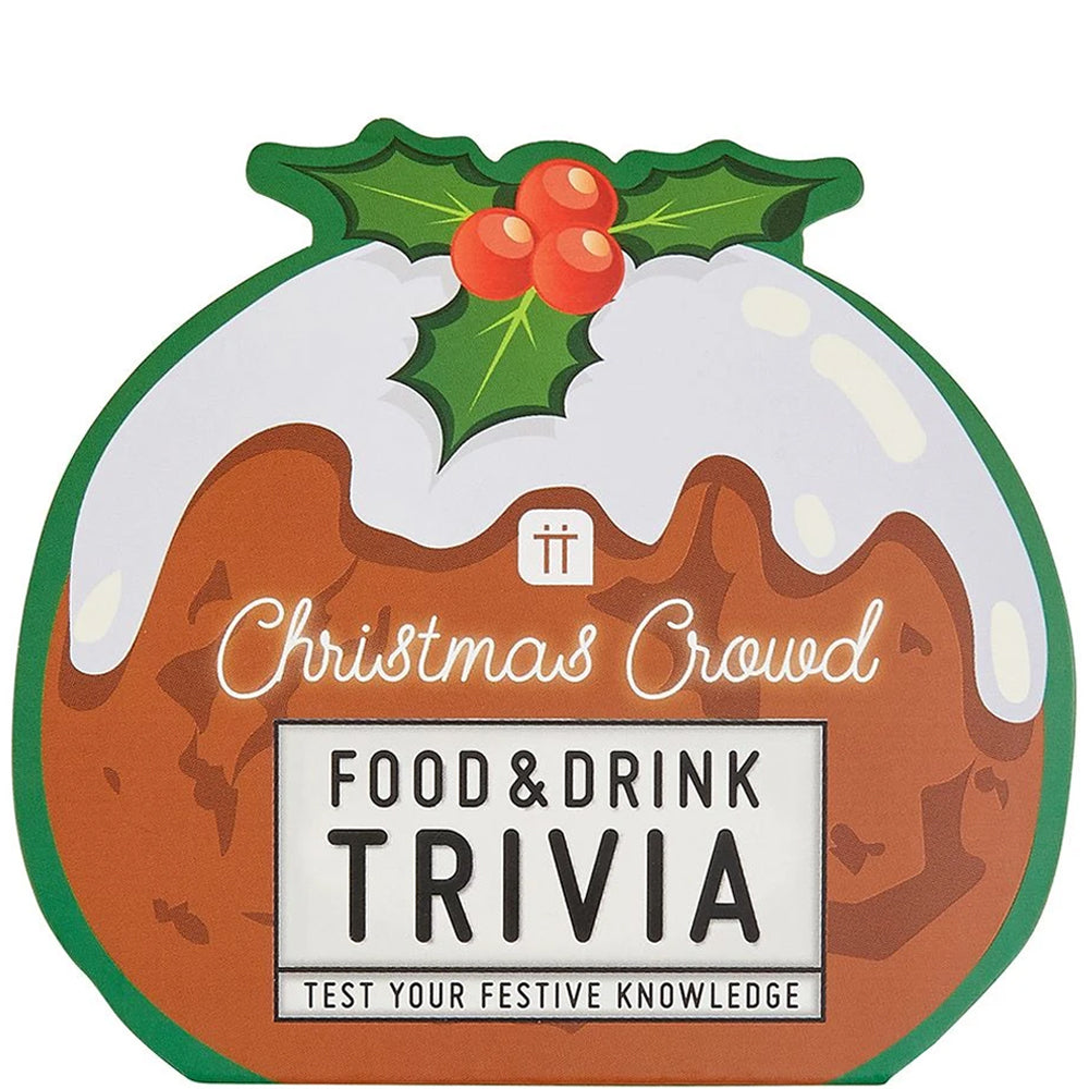 Christmas Food and Drink Trivia Cards