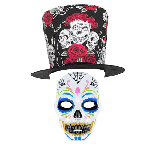 Male Day of the Dead Fancy Dress Kit