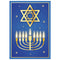 Star of David Hanukkah Poster - A3