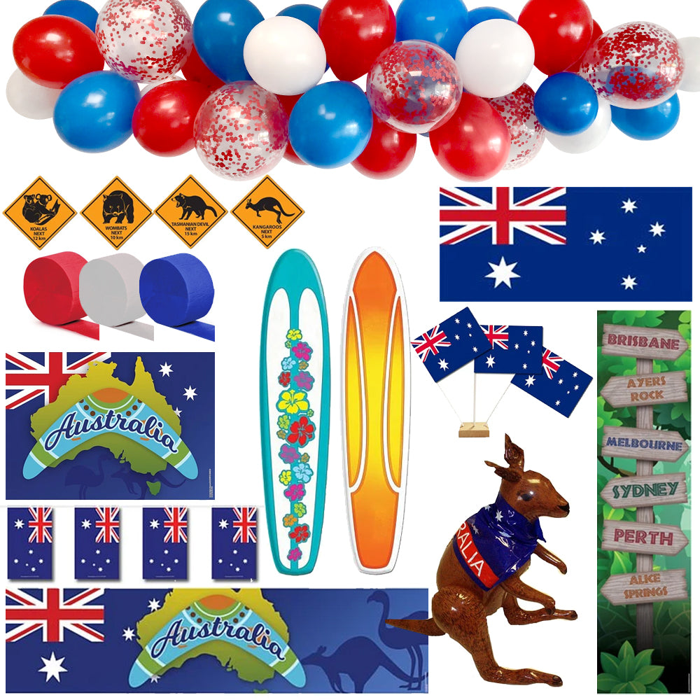 Australian Themed Decoration Party Pack