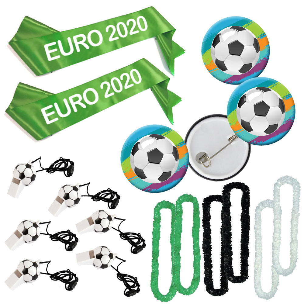 Euro 2020 Football Fancy Dress and Novelty Pack