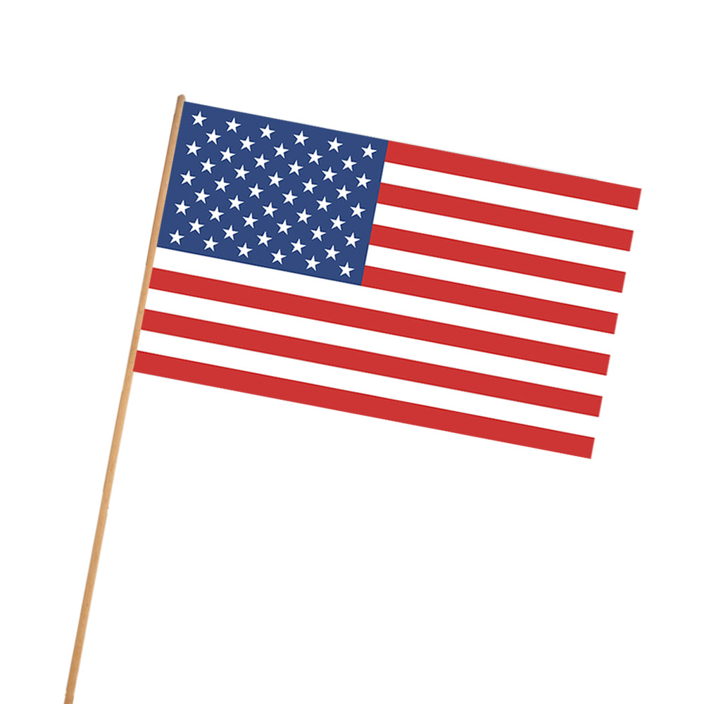 American Cloth Flag - 46cm