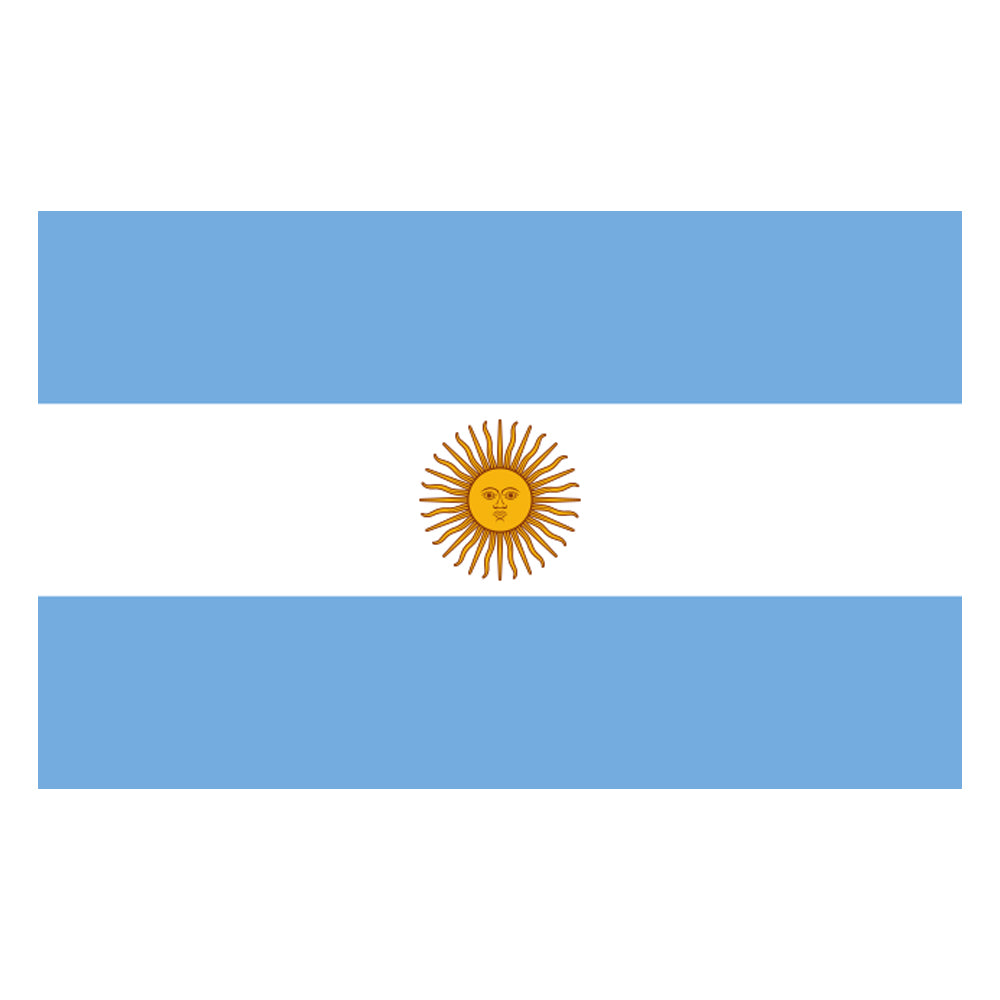 Argentinian Cloth Flag 5ft x 3ft