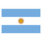 Argentinian Polyester Fabric Flag 5ft x 3ft