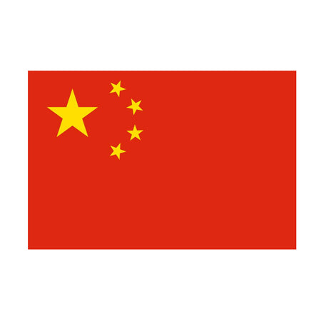 Chinese Polyester Fabric Flag 5ft  x 3ft