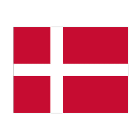 Denmark Polyester Fabric Flag 5ft x 3ft