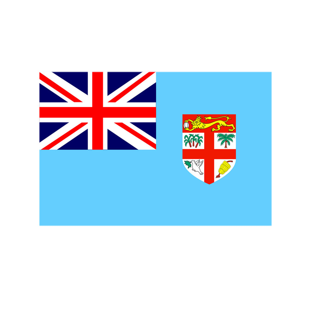 Fiji Polyester Fabric Flag 5ft x 3ft