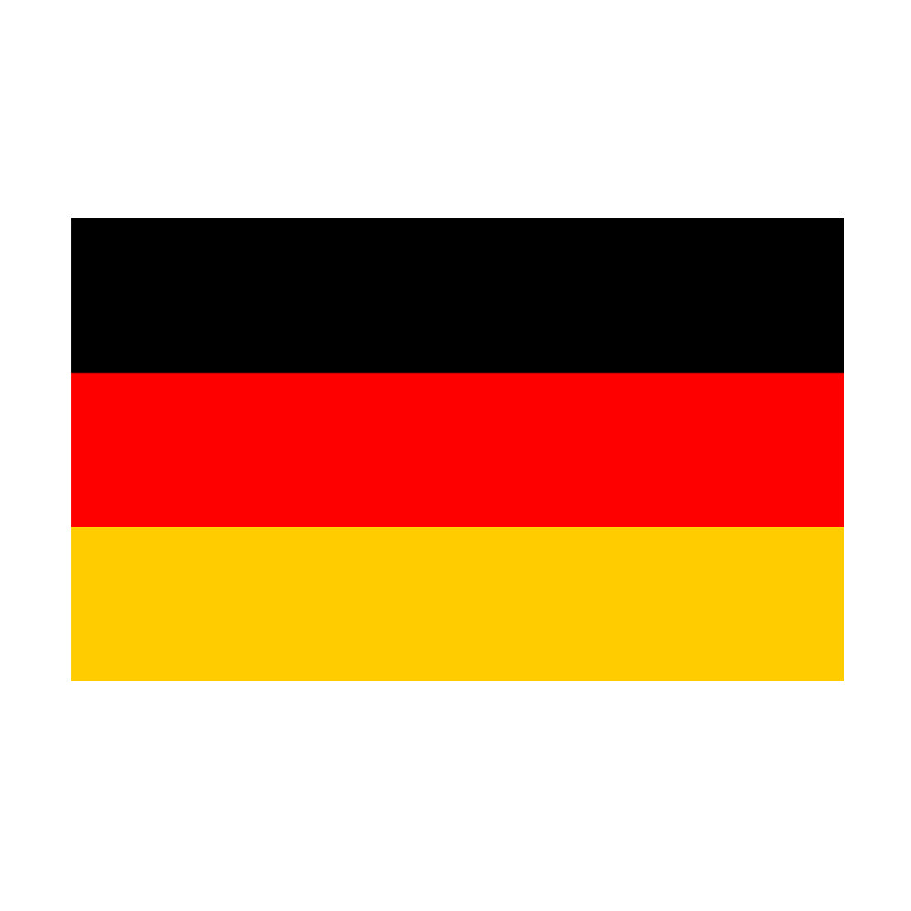 German Polyester Fabric Flag 5ft x 3ft