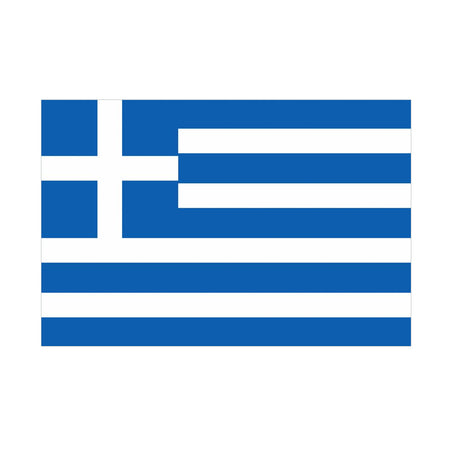 Greek Polyester Fabric Flag 5ft x 3ft