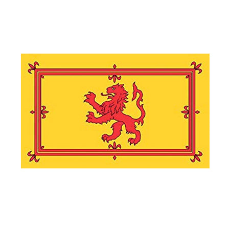 Rampant Lion Giant Cloth Flag 8ft x 5ft