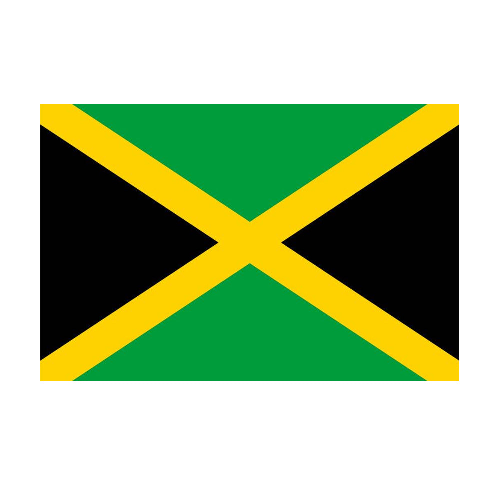 Jamaican Polyester Fabric Flag 5ft x 3ft