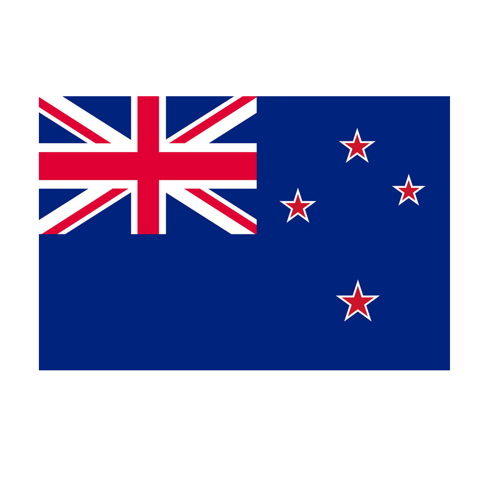 New Zealand Polyester Fabric Flag 5ft x 3ft